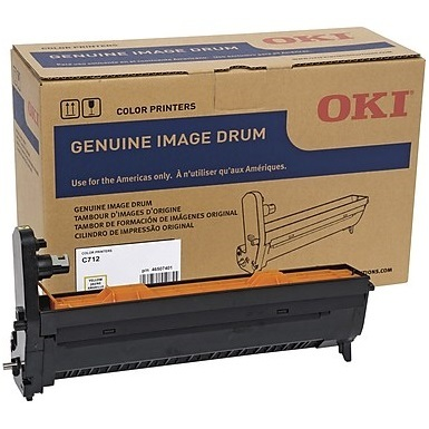 46507401 Image Drum - Okidata Genuine OEM (Yellow)