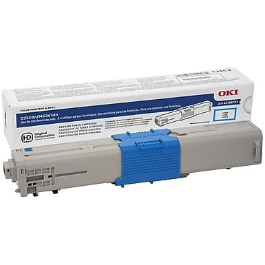 46508703 Toner Cartridge - Okidata Genuine OEM (Cyan)