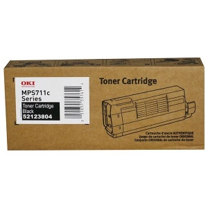 52123804 Toner Cartridge - Okidata Genuine OEM (Black)