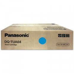 DQ-TUA04C Toner Cartridge - Panasonic Genuine OEM (Cyan)