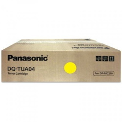DQ-TUA04Y Toner Cartridge - Panasonic Genuine OEM (Yellow)