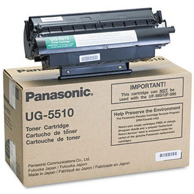 UG-5510 Toner Cartridge - Panasonic Genuine OEM (Black)