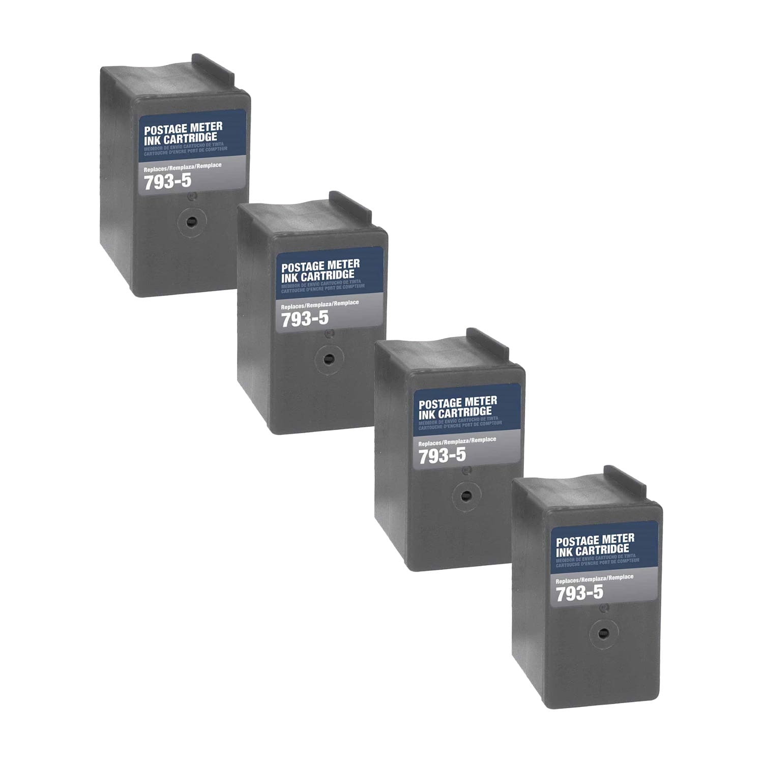 Compatible Pitney Bowes 793-5 Inkjet Pack - 4 Cartridges