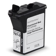 797-0 Ink Cartridge - Pitney Bowes Compatible (Red)
