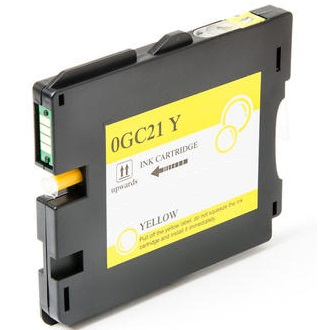 Compatible Ricoh 405535 Yellow Ink Cartridge