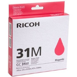 Ricoh 405690 Ink Cartridge - Ricoh Genuine OEM (Magenta)