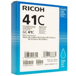 Ricoh 405762 Ink Cartridge - Ricoh Genuine OEM (Cyan)