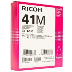 Ricoh 405763 Ink Cartridge - Ricoh Genuine OEM (Magenta)