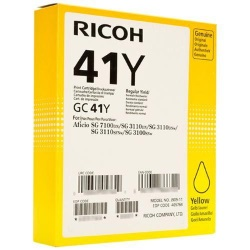 Ricoh 405764 Ink Cartridge - Ricoh Genuine OEM (Yellow)