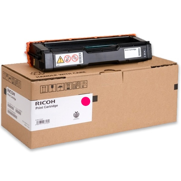 Genuine Ricoh 407541 Magenta Toner Cartridge