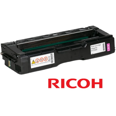 Ricoh 408338 Toner Cartridge - Ricoh Genuine OEM (Magenta)