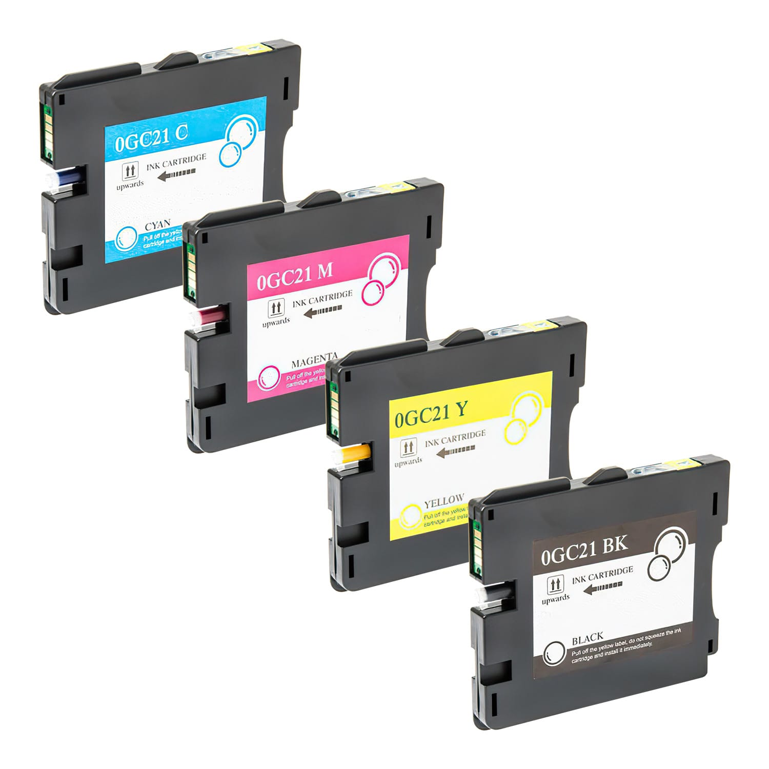 Compatible Ricoh GC21 Inkjet Pack - 4 Cartridges