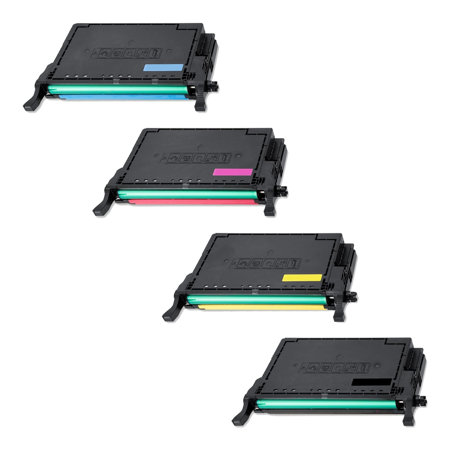 Remanufactured Samsung 508L Toner High Capacity Pack - 4 Cartridges