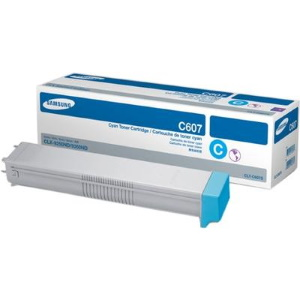 CLT-C607S Toner Cartridge - Samsung Genuine OEM (Cyan)