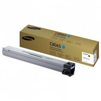 CLT-C806S Toner Cartridge - Samsung Genuine OEM (Cyan)