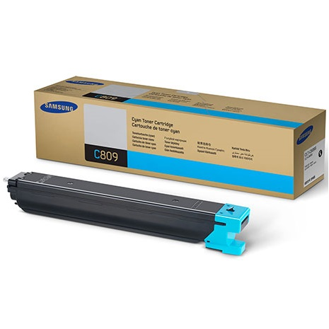 CLT-C809S Toner Cartridge - Samsung Genuine OEM (Cyan)