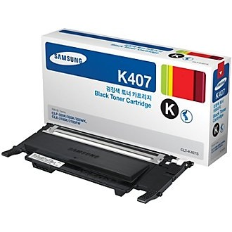 CLT-K407S Toner Cartridge - Samsung Genuine OEM (Black)