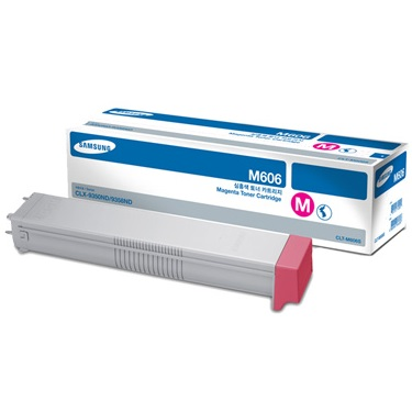 CLT-M606S Toner Cartridge - Samsung Genuine OEM (Magenta)