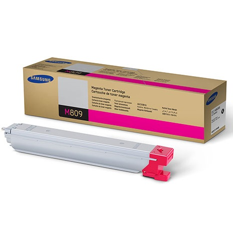 CLT-M809S Toner Cartridge - Samsung Genuine OEM (Magenta)
