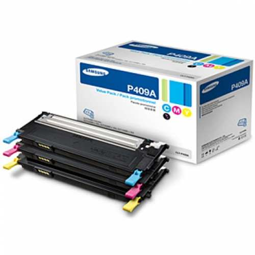 CLT-P409A Toner Cartridge - Samsung Genuine OEM (Bundle Pack)