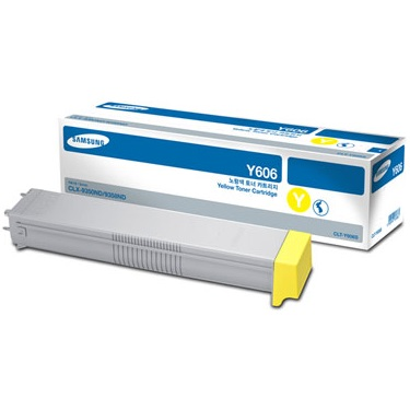 CLT-Y606S Toner Cartridge - Samsung Genuine OEM (Yellow)