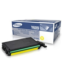 CLT-Y609S Toner Cartridge - Samsung Genuine OEM (Yellow)