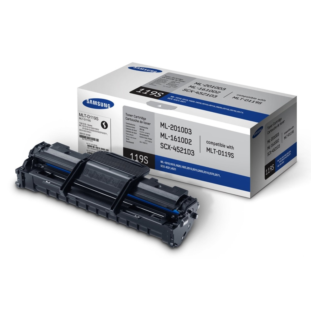 MLT-D119S Toner Cartridge - Samsung Genuine OEM (Black)