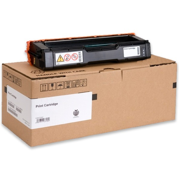 Savin 407653 Toner Cartridge - Savin Genuine OEM (Black)