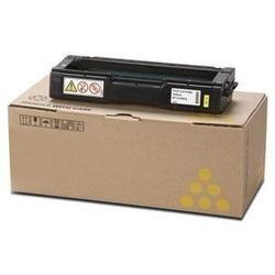 Savin 407898 Toner Cartridge - Savin Genuine OEM (Yellow)