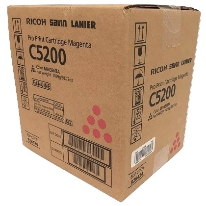 Savin 828424 Toner Cartridge - Savin Genuine OEM (Magenta)
