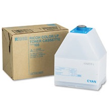 Genuine Savin 885375 Cyan Toner Cartridge