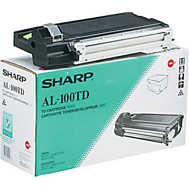 AL-100TD Toner Cartridge - Sharp Genuine OEM (Black)