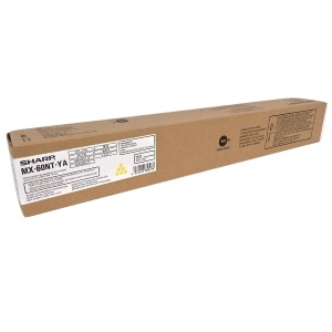 MX-60NTYA Toner Cartridge - Sharp Genuine OEM (Yellow)