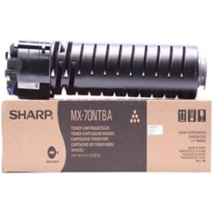 MX-70NTBA Toner Cartridge - Sharp Genuine OEM (Black)