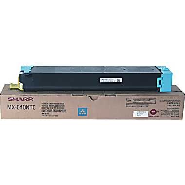 Genuine Sharp MX-C40NTC Cyan Toner Cartridge