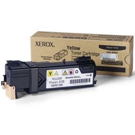 106R01280 Toner Cartridge - Xerox Genuine OEM (Yellow)