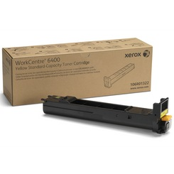 106R01322 Toner Cartridge - Xerox Genuine OEM (Yellow)