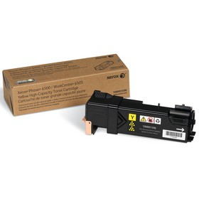 106R01596 Toner Cartridge - Xerox Genuine OEM (Yellow)
