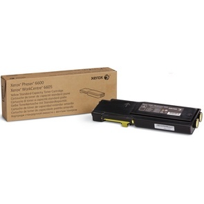 106R02243 Toner Cartridge - Xerox Genuine OEM (Yellow)