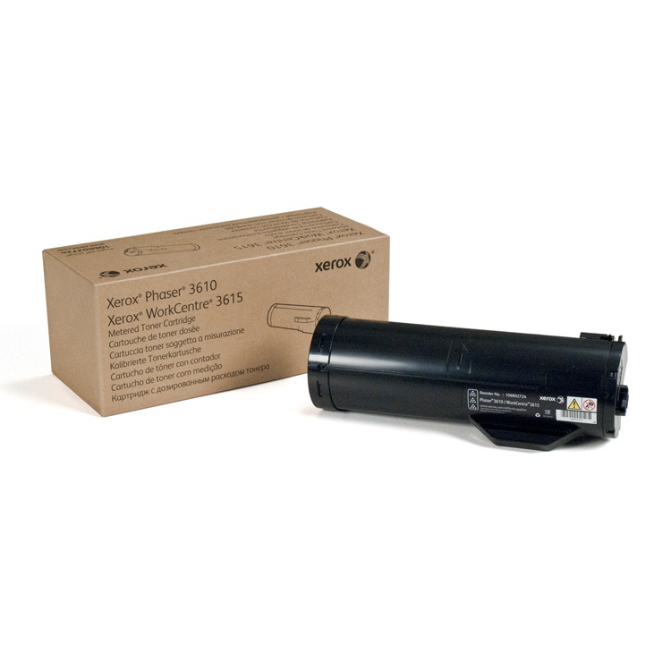Genuine Xerox 106R02720 Black Toner Cartridge