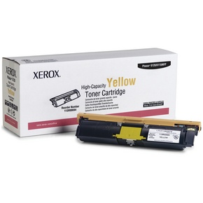 113R00694 Toner Cartridge - Xerox Genuine OEM (Yellow)