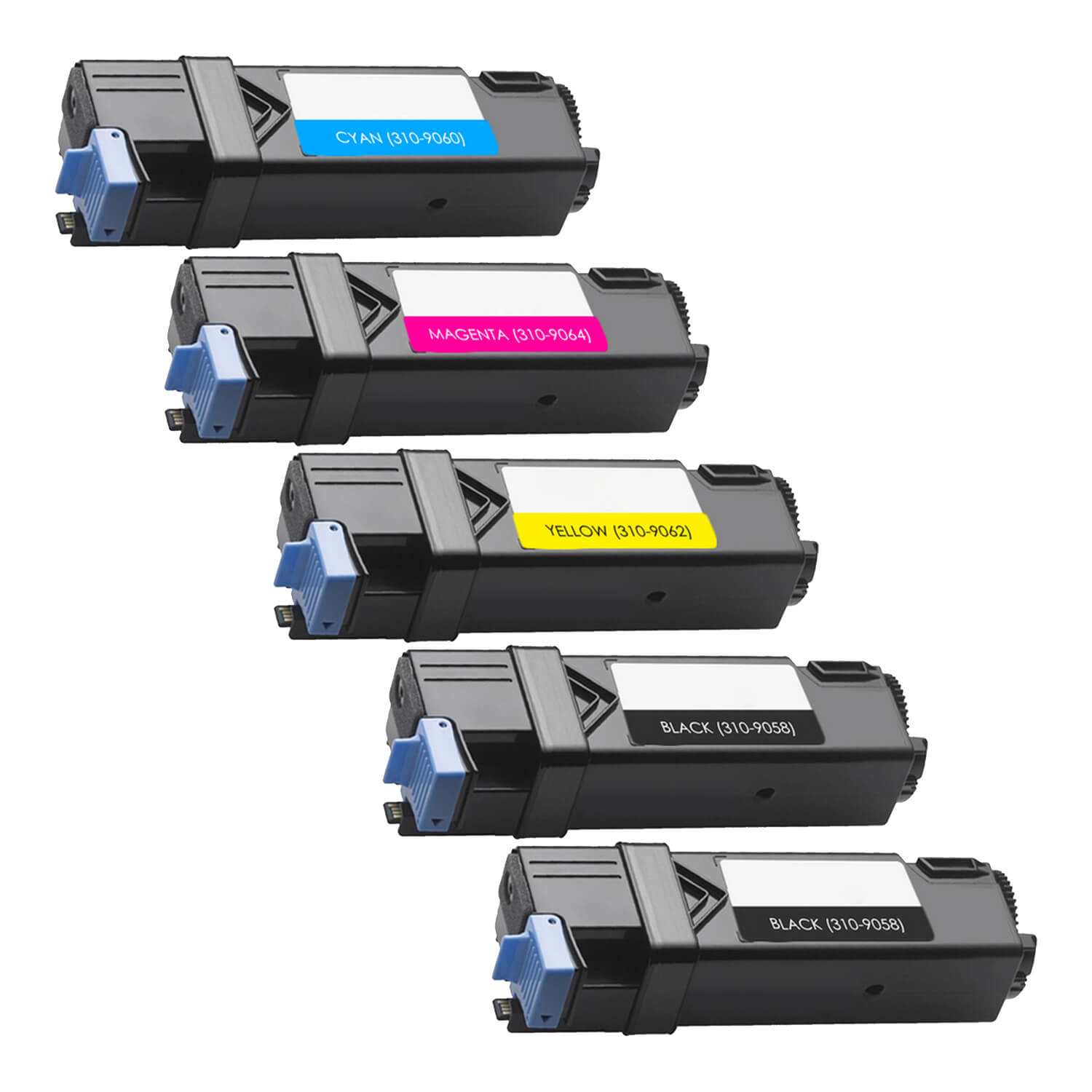 Remanufactured Xerox 6125 Toner Pack - 5 Cartridges