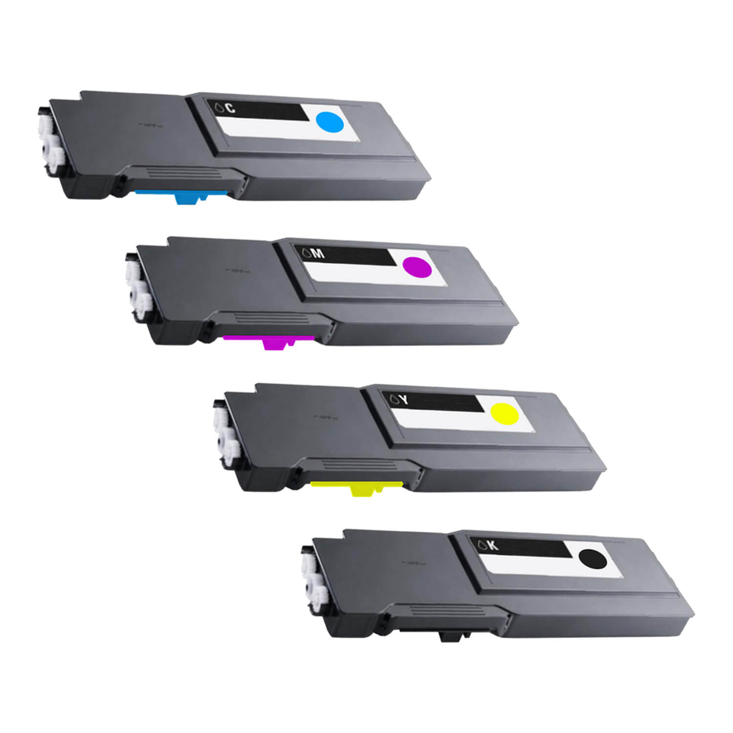 Compatible Xerox 6655 Toner High Capacity Pack - 4 Cartridges