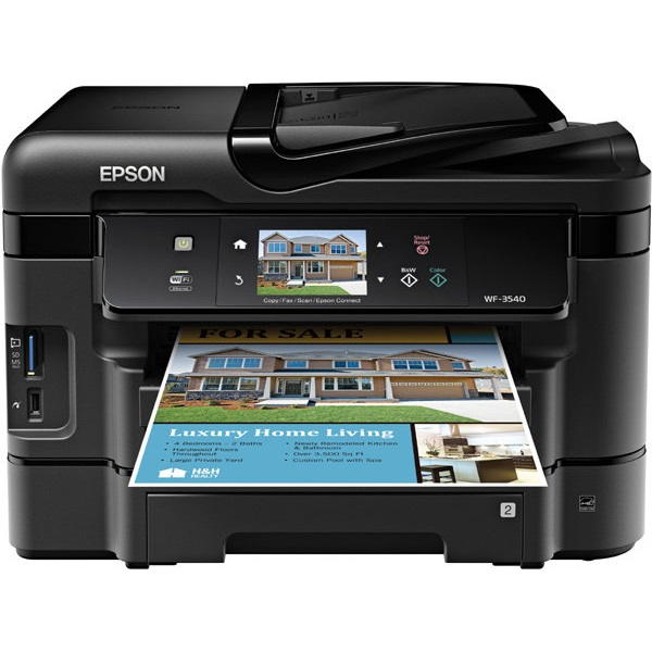 Epson WF-3540 Ink, WorkForce WF-3540 Ink Cartridges